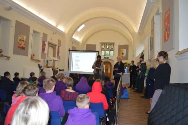 pupil taking assembly
