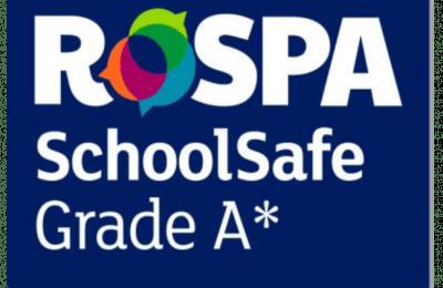 logo for RoSPA SchoolSafe A star