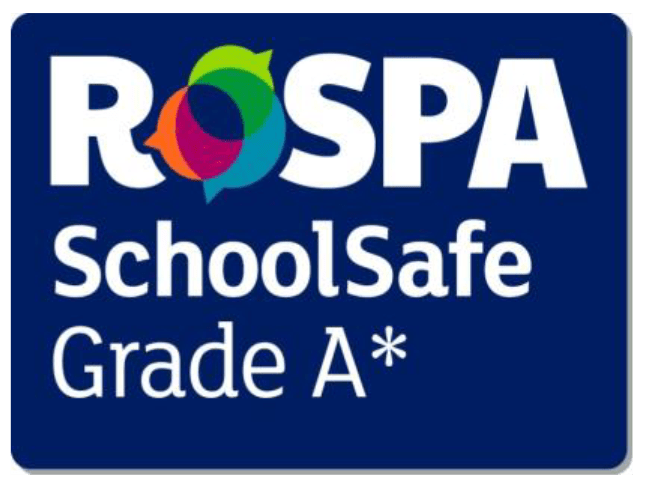 logo for RoSPA SchoolSafe A star